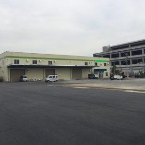 新築 倉庫