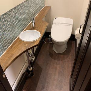 トイレ 改修工事