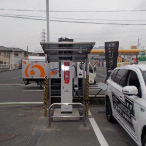 省エネ EV(電気自動車)充電器